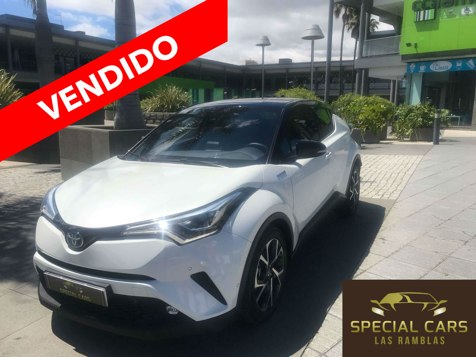 TOYOTA C-HR 1 VENDIDO