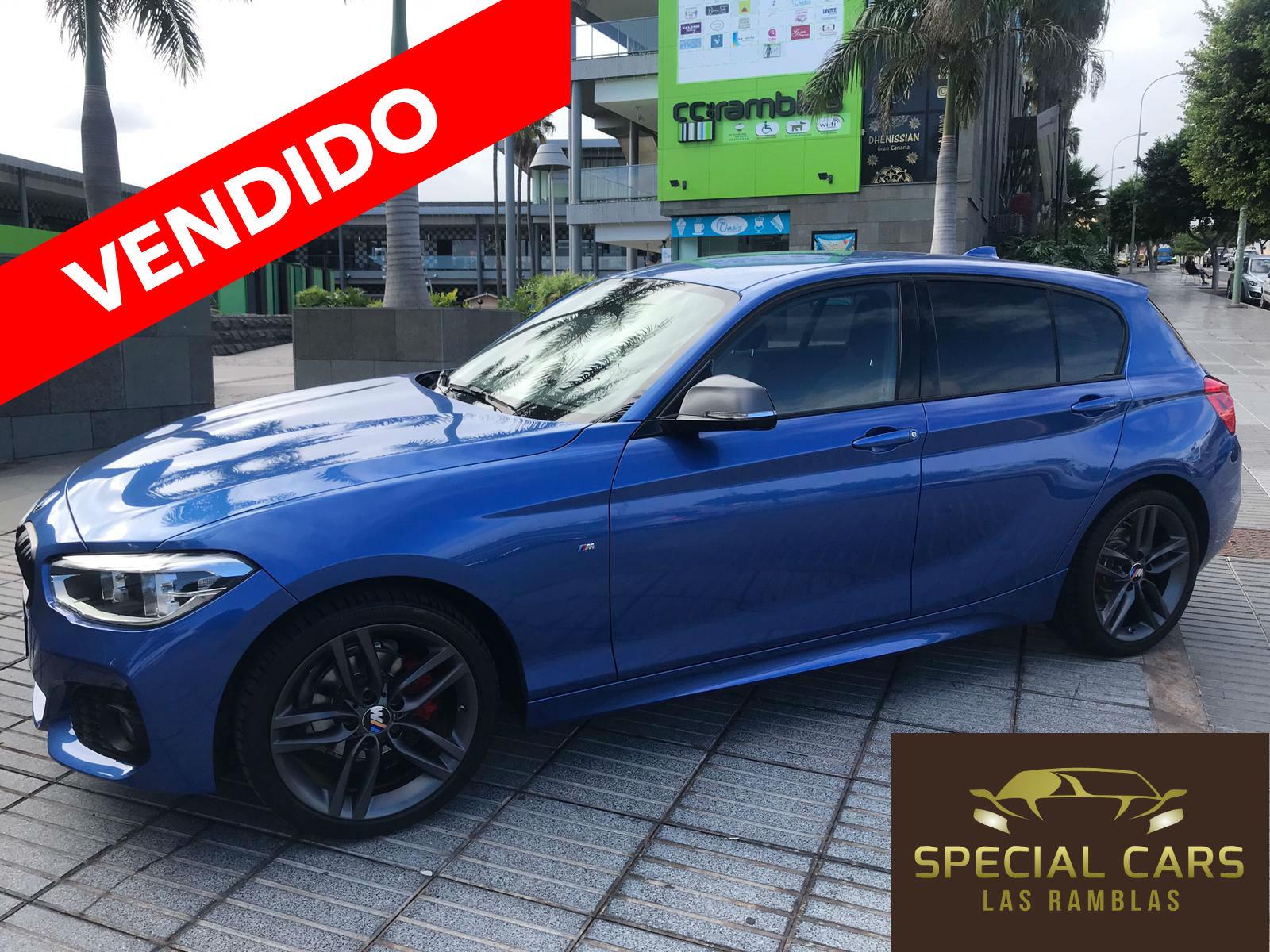 BMW 116 D PAQM AZUL 1 VENDIDO