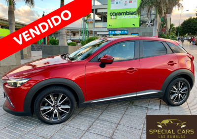 MAZDA CX3 1.5 SKYACTIV DE LUXURY
