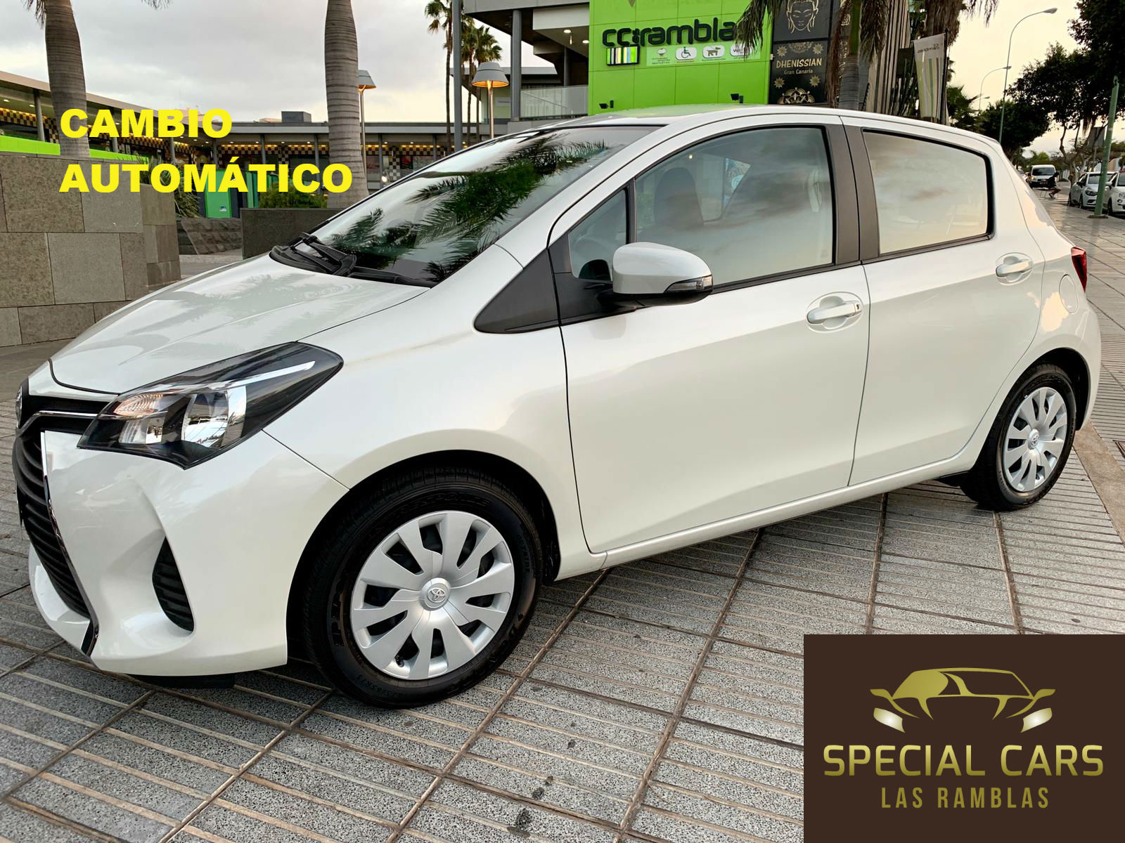 YARIS 1.4 AUT. BLANCO FEB19 1