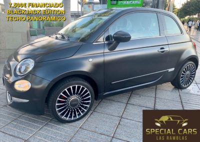 FIAT 500 1.2 BLACKJACK EDITION