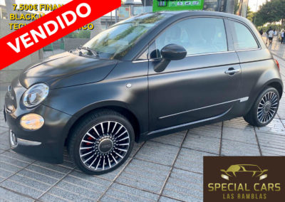FIAT 500 1.2 BLACKJACK EDITION