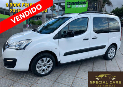 CITROEN BELRINGO MULTISPACE 1.6BHDI  XTR PLUS 100
