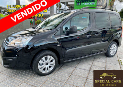 CITROEN BERLINGO MULTISPACE 1.6BHDI 20 ANI. 2018