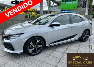 HONDA CIVIC 1.5 IVTEC SPORT PLUS 180CV 2018