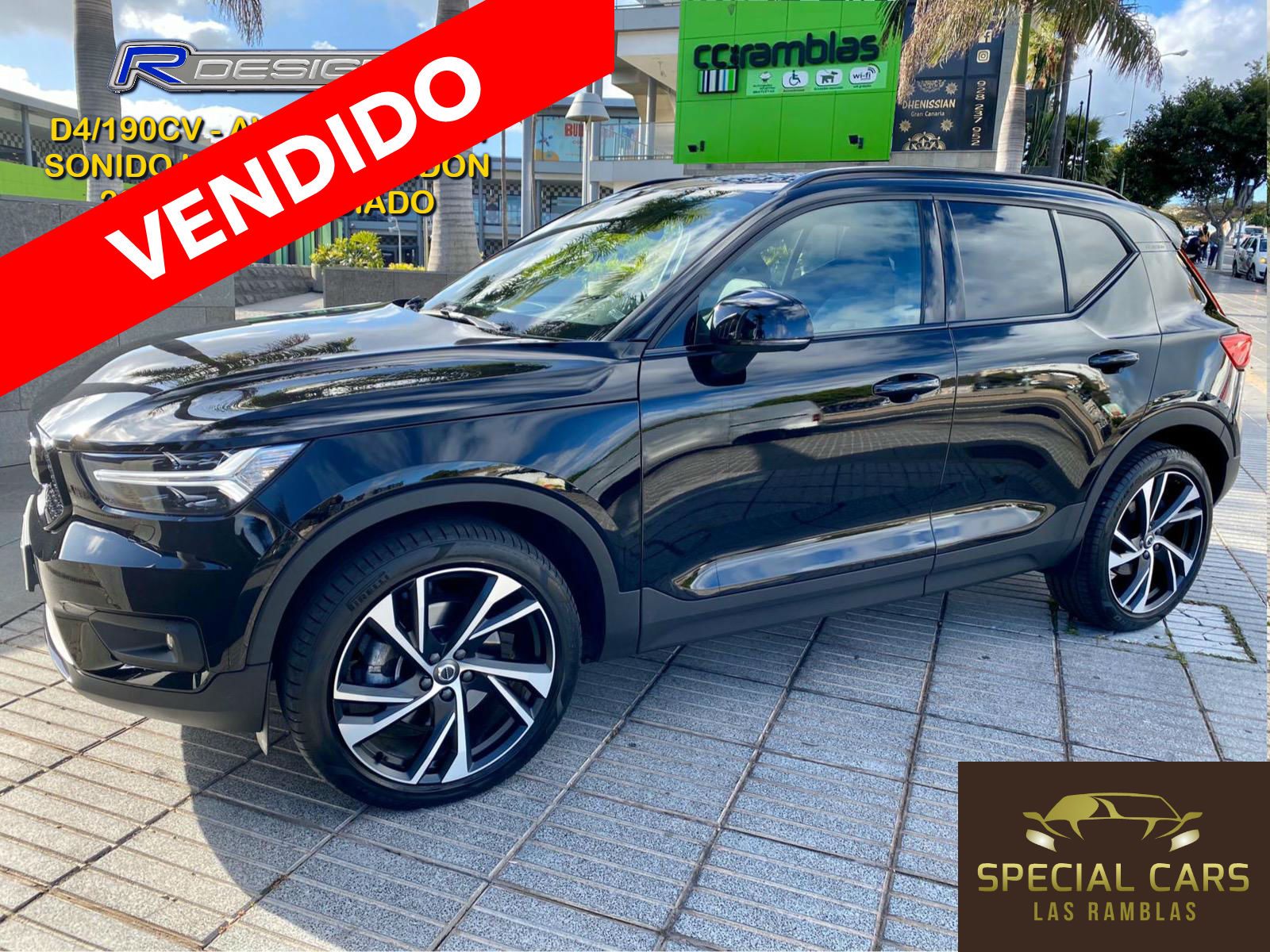XC40 R-DESING D4 AWD 2018 ENE20 (1) VENDIDO