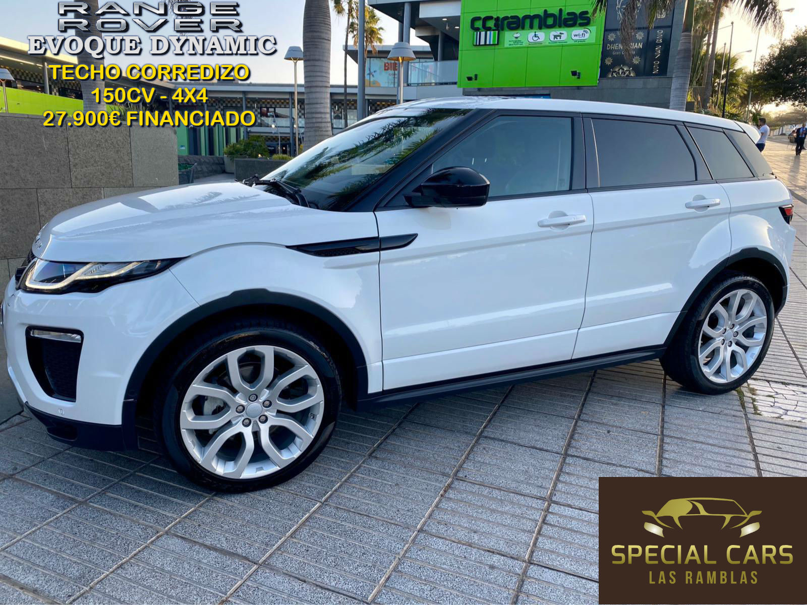 RANGE ROVER EVOQUE DYNAMIC 2.0 TD4 2016 FEB20 (1)