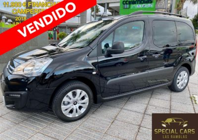 CITROEN BERLINGO 1.2 PURETECH MULTISPACE 20 ANIV. 2018 CAMPERIZADA
