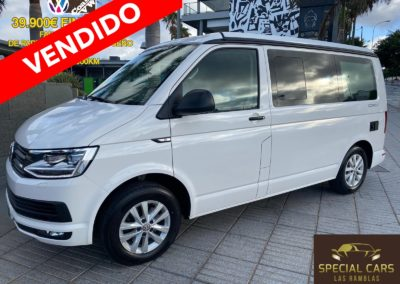 VOLKSWAGEN CALIFORNIA 2.0TDI COAST EDITION FULL EQUIP. 110CV 2018