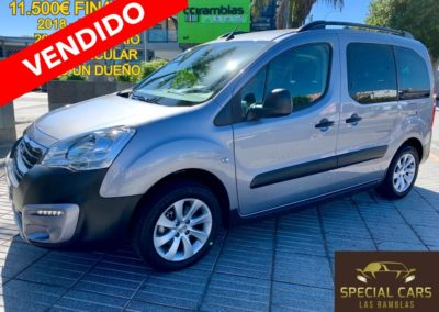 PEUGEOT PARTNER TEPEE ADVENTURE 1.6 BLUEHDI 100 2018