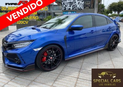 HONDA CIVIC 2.0 IVTEC TYPE-R GT FULL 320CV 2018