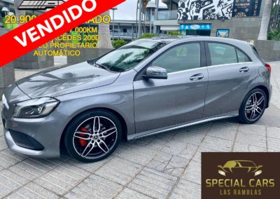 MERCEDES BENZ A200D AMG AUTOMÁTICO 2018