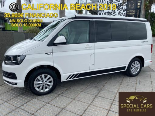 VOLKSWAGEN CALIFORNIA 2.0TDI BEACH COOL EDITION 115CV 2019