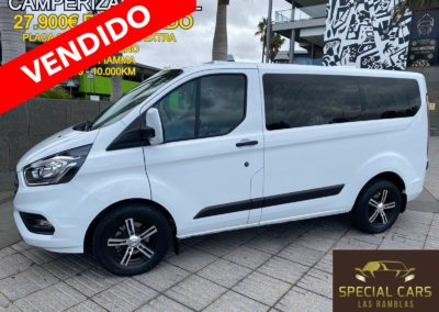 FORD TRANSIT CUSTOM KOMBI FT320 L1 TREND 2.0TDCI 105CV CAMPERIZADA FULL
