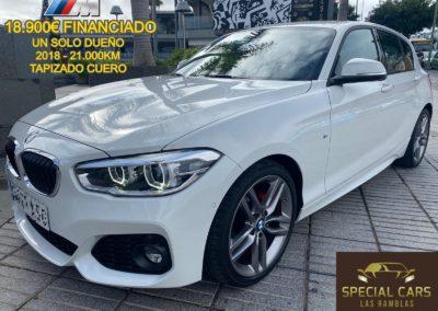 BMW 118i PACK M COMPLETO 5p.