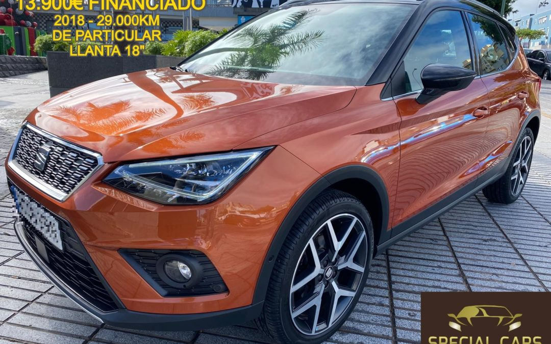 SEAT ARONA XCELLENCE PLUS 1.0 TSI 85kW 115CV 5p.