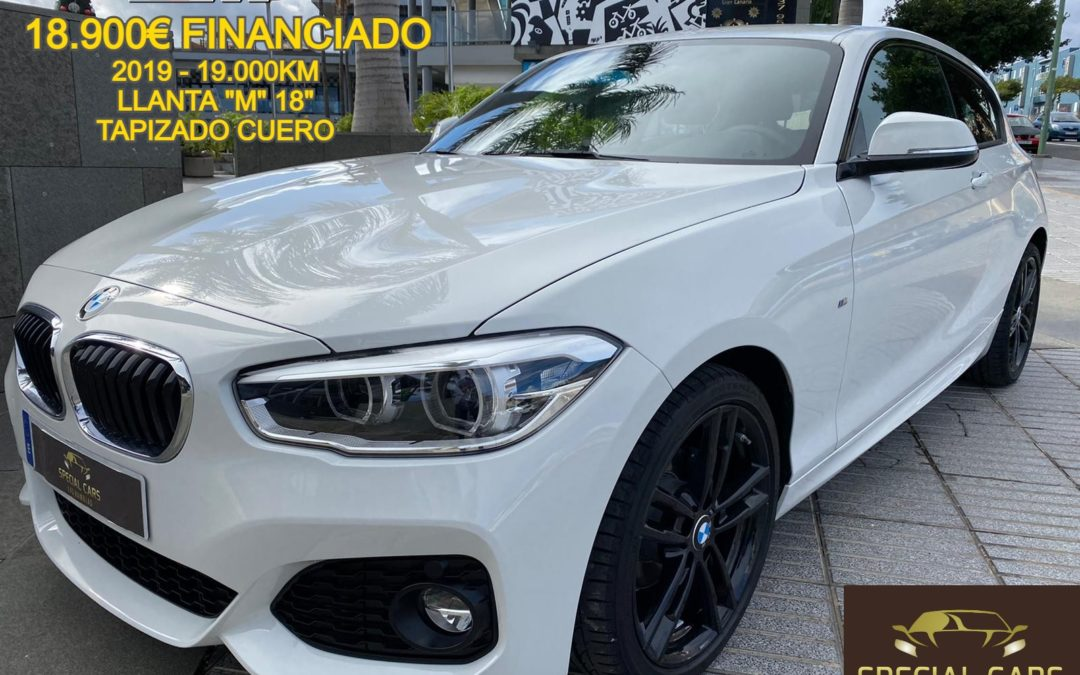 BMW 116D PACK M EFFICENTDYNAMICS 3.p 2019