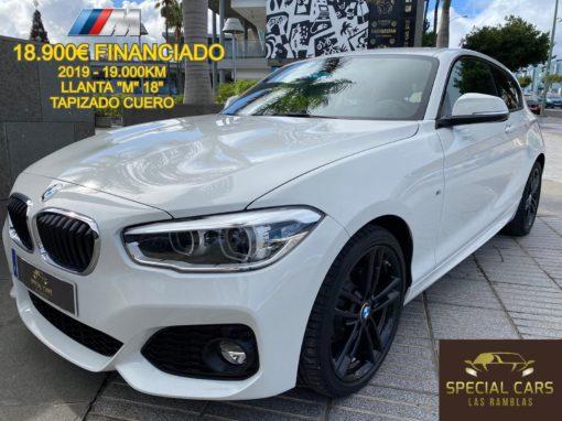 BMW 116D PACK M EFFICENTDYNAMICS 3.p 2019