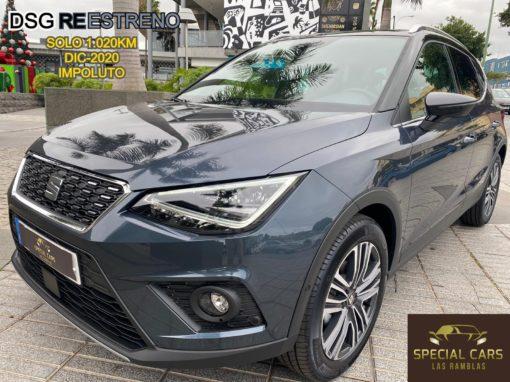 SEAT ARONA 1.0 TSI DSG XCELLENCE 85kW 115CV REESTRENO 2021