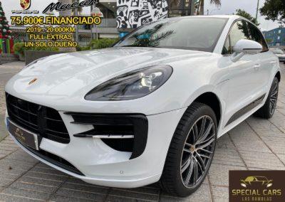 PORSCHE MACAN S GASOLINA 354CV AUTOMÁTICO FULL EXTRAS 2019