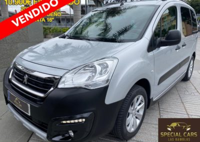 PEUGEOT PARTNER TEPEE OUTDOOR 1.6 BLUEHDI 100
