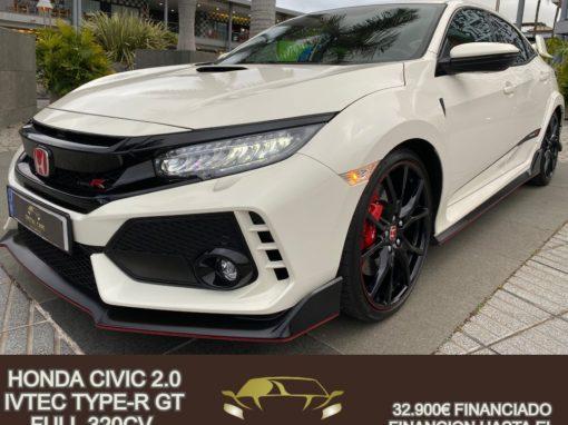 HONDA CIVIC 2.0 IVTEC TYPE-R GT FULL 320CV 2019