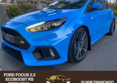 FORD FOCUS 2.3 ECOBOOST RS 350CV 2018