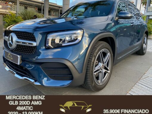 MERCEDES BENZ GLB 200D AMG 4MATIC 2020