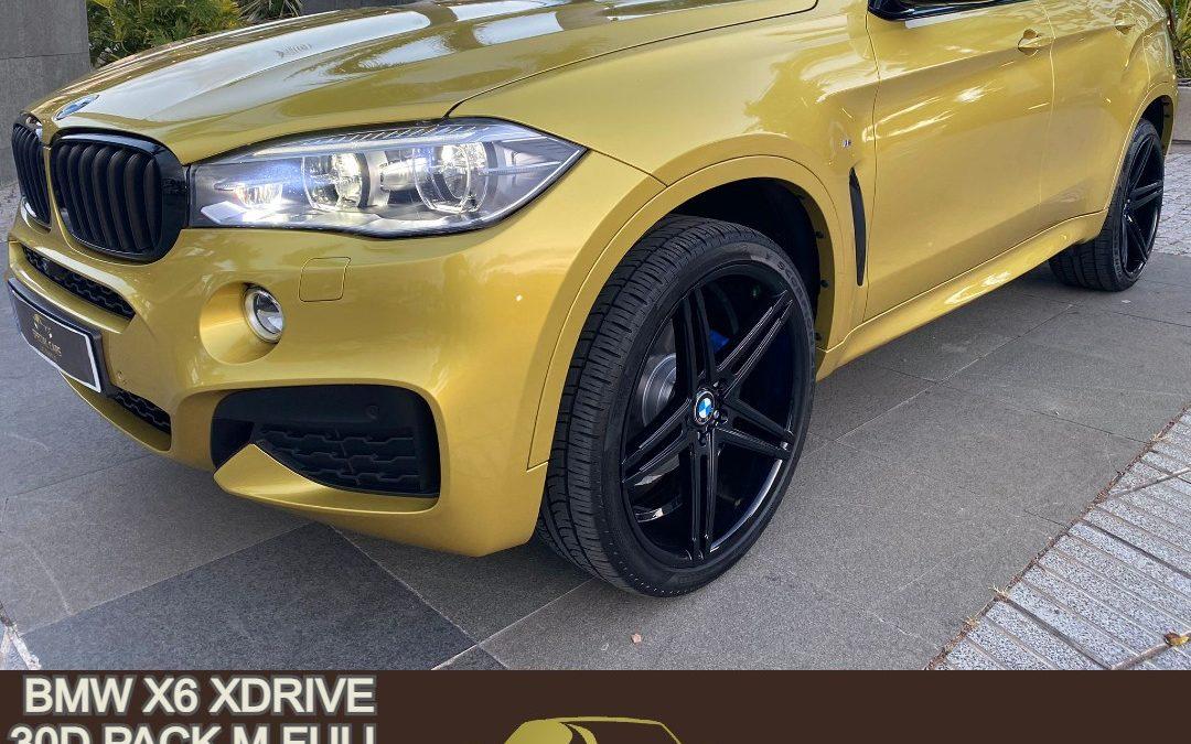 BMW X6 XDRIVE 30D PACK M FULL LLANTA 22″